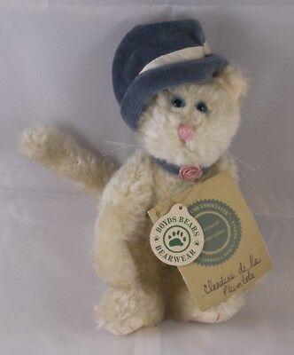 Unparteiisch Im Ruhestand Boyds Bären Plüsch Beanie Keilzinkenanlage 17.8cm Claudette Kitty Ausgereifte Technologien Teddys Spielzeug