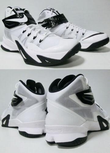 Nike Viii Negro Soldier Lebron Zoom 5 Blanco baloncesto para Zapatillas hombre de M 17 FwYnq61qa