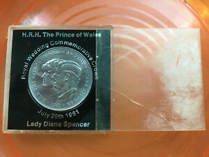 britain-1981-Commemorative-Lady-Diana-Coin