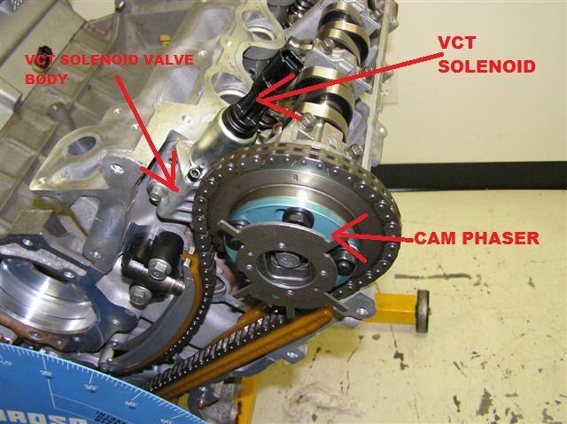 Set of 2 Genuine Ford 2007 2010 5 4l 3v VCT Solenoid & Seals F150 Super Duty