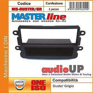 MASCHERINA AUTORADIO DOPPIO 2 DIN DACIA SANDERO 2013/> LODGY DOKKER DUSTER 2012/>