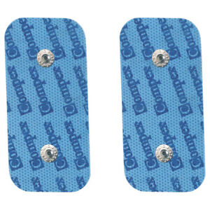 Elektroden-Pads-Easy-Snaps-passend-zu-Compex-EMS-TENS-Geraeten-5x10-cm-2-Stueck