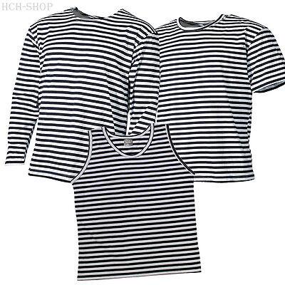 MFH Marine Shirt T-Shirt halbarm Tank Top Sommershirt Wintershirt langarm