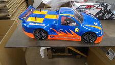 1/8 Truck RC Car Body Shell Dirt Oval NASCAR 1mm Ofna Hyper GT Gtp2e Slash