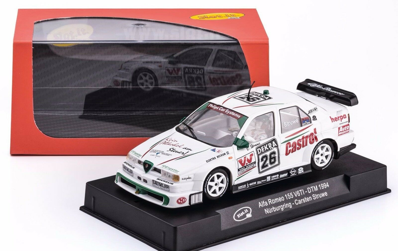 Slot it Alfa Romeo 155 V6 TI DTM  Nürburgring 1994 -  26