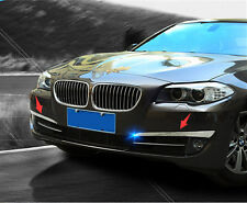 Front Fog Light Lamp Eyelid Cover Trim For BMW 5 Series F10 / GT F07 2011-2013
