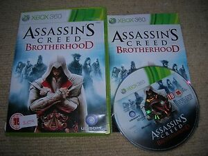 ASSASSIN-S-CREED-BROTHERHOOD-Rare-XBOX-360-Game