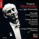 Yevgeny Mravinsky Conducts Stravinsky: P'trouchka, Le Baiser de F'e Super Audio Hybrid CD (CD, Nov-2015, Praga)