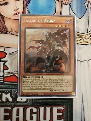 Fallen of Albaz 1st Edition YuGiOh ROTD-EN011 Secret Rare