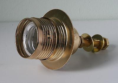 Brass lamp holder Kit ES E27 Edison Screw fitting c/w 10mm threaded rod