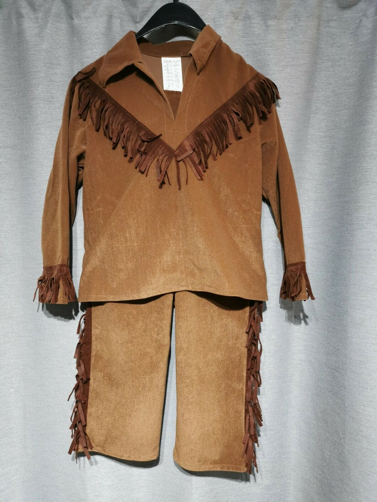 #6 new child's apache indian costume fancy dress cosplay 5-7 years cesar