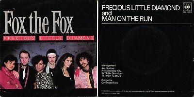 DISCO 45 GIRI FOX THE FOX – PRECIOUS LITTLE DIAMOND // MAN ON THE ...