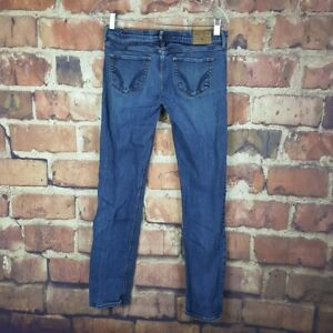 Hollister-Straight-Stretch-Jeans-Womens-Size-7-Juniors-31-Inseam