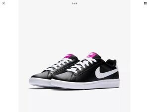 dcceb52edd30 Image is loading Womens-Nike-Court-Majestic-Trainers-454256-017-UK-
