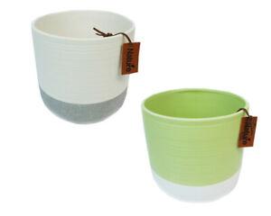 Cachepot-Nature-15-5x15h-Verde-E-Grigio-in-ceramica-decorazione-arredo