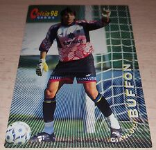 CARD CALCIATORI PANINI 98 PARMA BUFFON CALCIO FOOTBALL SOCCER ALBUM