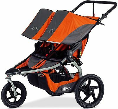 Bob Revolution Flex Duallie Twin Baby Double Jogger Jogging Stroller Canyon NEW
