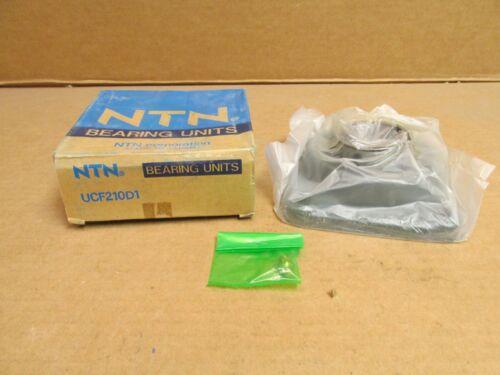 NIB NTN UCF210D1 4 BOLT FLANGE BEARING UNIT UCF 210 D1 50mm ID
