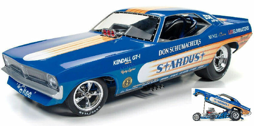 Plymouth Cuda Stardust Don Schumacher 2018  Model AW1179 AUTO WORLD