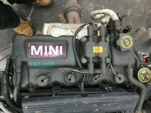 MINI-1600-1-6-ENGINE-W10B16A-MILEAGE-93K-FULL-CAR-IN-FOR-SPARES
