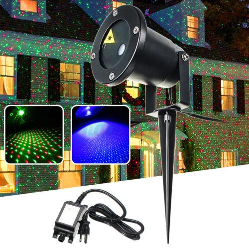 Christmas Projector Light LED Laser Indoor//Outdoor Garden Lawn Landscape Light