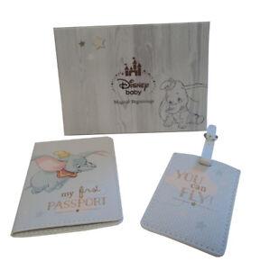 172b89dc7 Image is loading Disney-Dumbo-UK-Kids-Passport-Holder-Childrens-Cover-