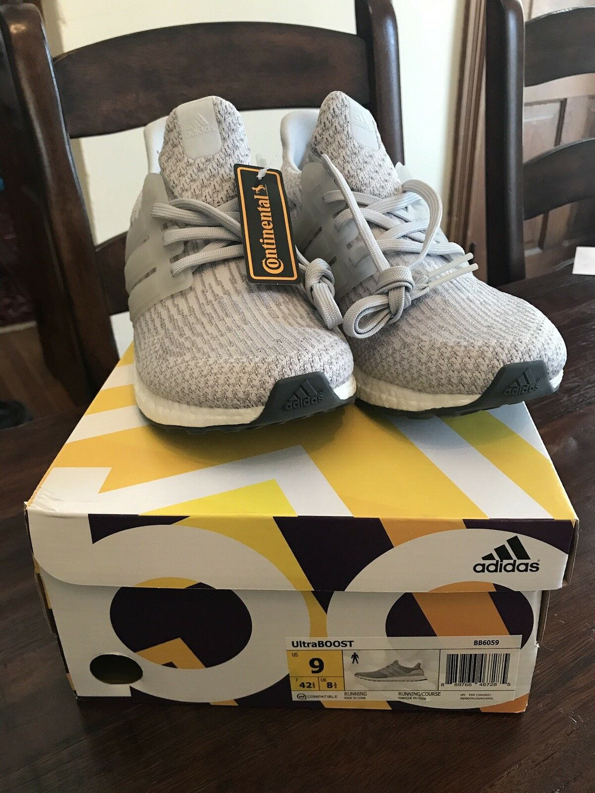 Brand New Adidas Ultra Boost 3.0 Clear Grey men's size 9