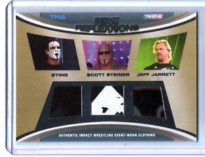 TNA-Sting-Scott-Steiner-Jeff-Jarrett-2012-Reflexxions-Triple-Relic-Card-174-199