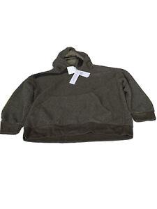 Workshop Republic Faux Fur Hoodie Green Size M