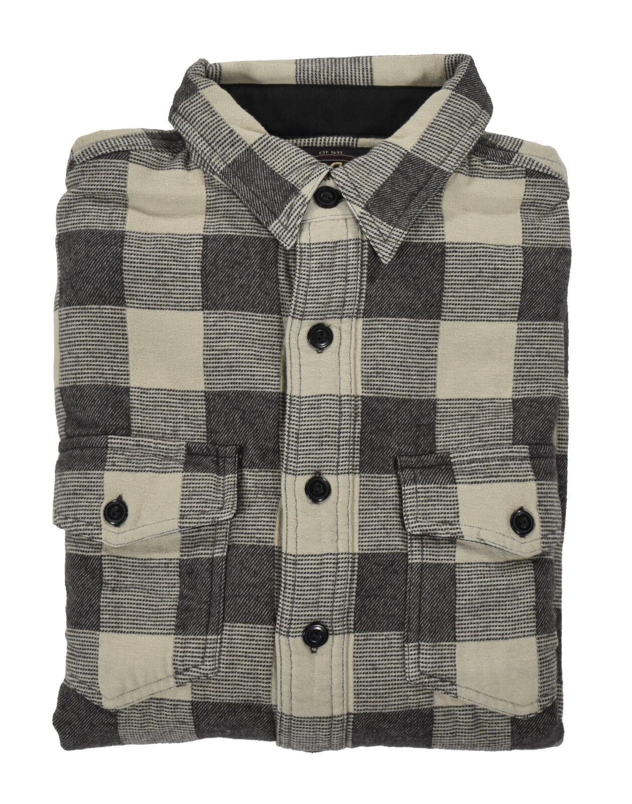 Ralph Lauren RRL Vintage Heavy Cotton Plaid Flannel Shirt New
