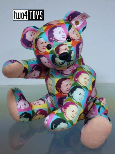 STEIFF STEIFF STEIFF Ltd BILLtavola TEDDY orso MARGARETE 12in. 30cm EAN 037191 scatolaED RETIrosso 69d9b5