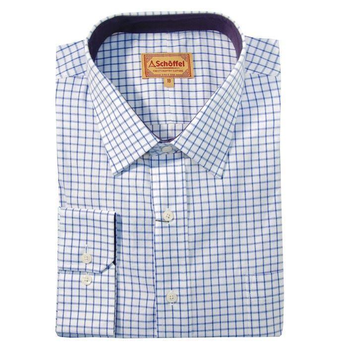 Schoffel Cambridge Shirt - Royal Navy
