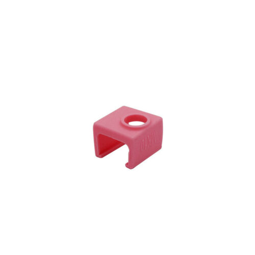 1pcs Pink MK10 Silicone Socks Cover Heating Insulation Case for Heater Block