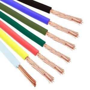 4mm Automotive Marine Stranded Wire Cable 56/0.3mm   eBay