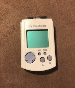 Official-Sega-Dreamcast-VMU-Virtual-Memory-Unit-Card-Excellent-Authentic-LQQK