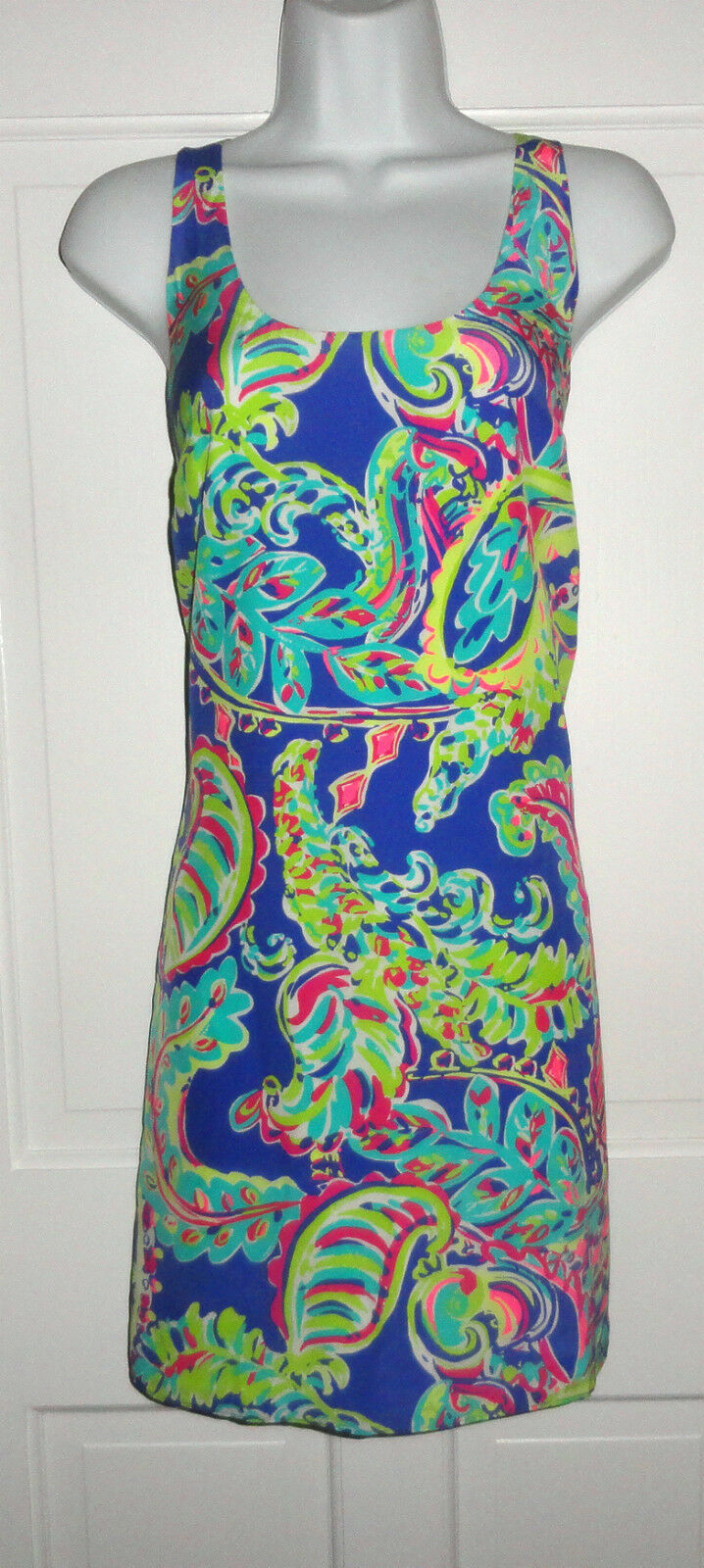 NWT LILLY PULITZER MULTI TOUCAN PLAY SILK POPPY DRESS
