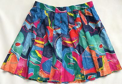 Clothing, Shoes & Accessories Dependable Vintage Lily's Of Beverly hills Abstract Pleated Tennis Skirt 14 Women Lbh Products Are Sold Without Limitations Activewear