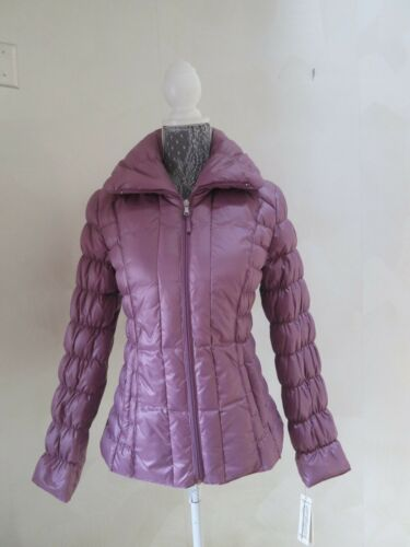 Lilla Kenneth Packable Ruched Ny Cole Pink Kvinders Mauve Down Small Jacket qI6aC7w