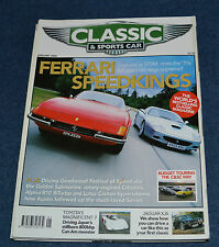 Classic & Sportscar January 2004 Ferrari Daytona, 575M, Toyota 7, XJ6,Alpina B10
