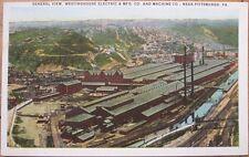 1920 Postcard: Westinghouse Electric & Machine Co. - Pittsburgh, Pennsylvania PA