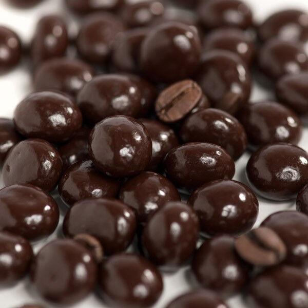 DARK CHOCOLATE COVERED ESPRESSO COFFEE BEANS, 1LB