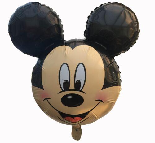 18``groß Form Mickey /& Minnie Maus geburtstagsparty ballon Folie Luft Helium