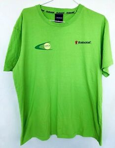 Babolat-ATPCA-Tennis-Training-Shirt-Green-Size-L
