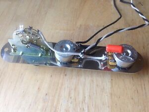 image is loading fender-telecaster-wiring-harness-with-plate-250k-cts-