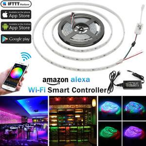 5M-RGB-LED-Digital-IC-Streifen-5050-300-LEDs-Dreamlight-Licht-Stripe-Wasserdicht