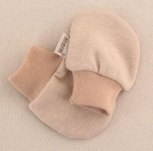 Newborn Gloves Baby Boys Girls Infant Cotton Anti-scratch Mittens 0-4 month