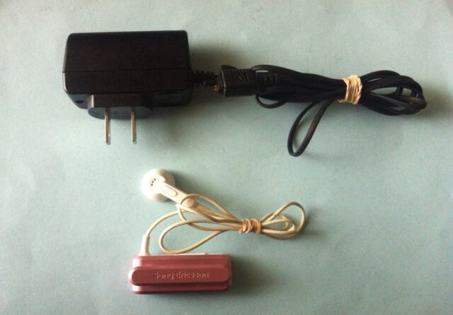 Sony Ericsson Clipon Bluetooth Wireless Headset Vh300 Cst 18 Ac Power Charger For Sale Online