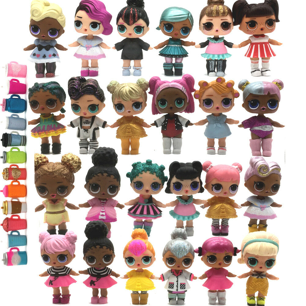 20Pcs  ️LOL Surprise UNICORN Queen Sugar PUNK BOI BOY DOLLS w  outfit toy RANDOM