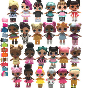 Random 5Pcs LOL Surprise Doll Lil Sister Kitty Queen Queen Bee punk boy toys