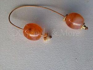 Greek-Begleri-mini-komboloi-smoky-honey-18mm-bead-brown-cord-gp-tinas-creations